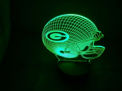 Green Bay Packers 3D Multi Color Lamp
