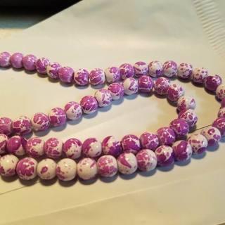 8mm glass beads