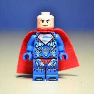 New Luther Superman Heroes Minifigure Building Toys Custom Lego