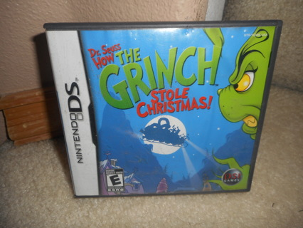 nintendo ds game how the grinch stole christmas - How The Grinch Stole Christmas Games