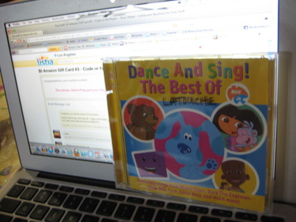 free dance and sing cd the best of nick jr other