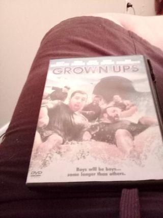 Grown ups DVD