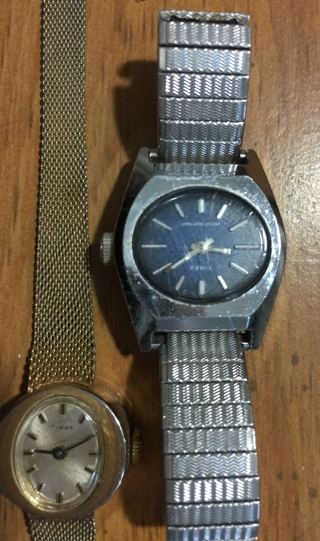 Qty of 3 Watches 2 are Timex and 1 is a Pendant