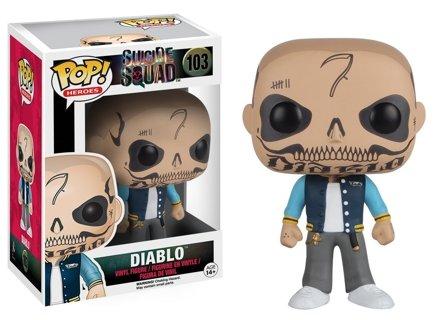 Funko POP Movies: Suicide Squad Action Figure, El Diablo