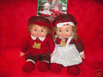 22 1993 heather and glen dolls by house of lloyds christmas around the world - Christmas Around The World House Of Lloyd