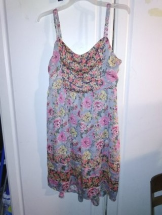 Mudd Floral Print Dress / Juniors Size XL