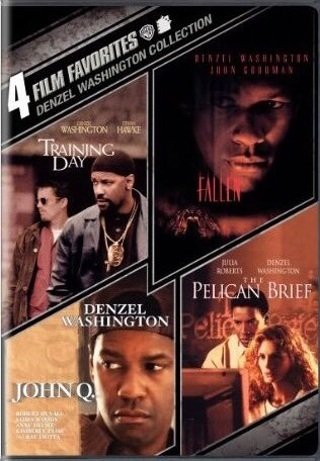 Denzel Washington 4-film favorites UV code