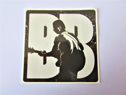 BB KING Vinyl Sticker- Helmet/Car/Skateboard/Business/Crafts