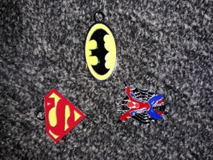 New super hero charms