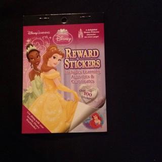 Disney princess sticker and activity book