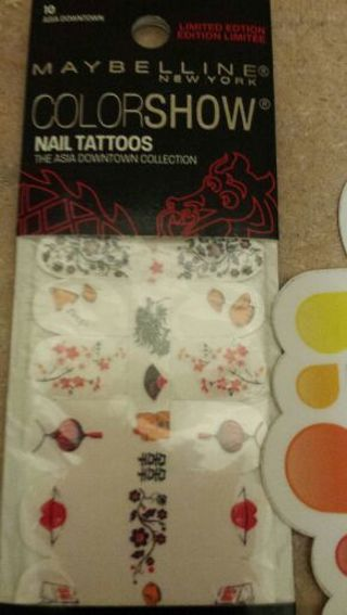 Maybelline nail tattoos