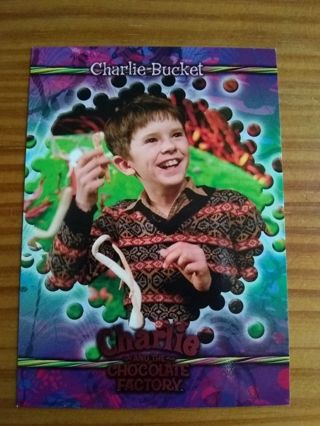 Charlie And The Chocolate Factory Trading Card