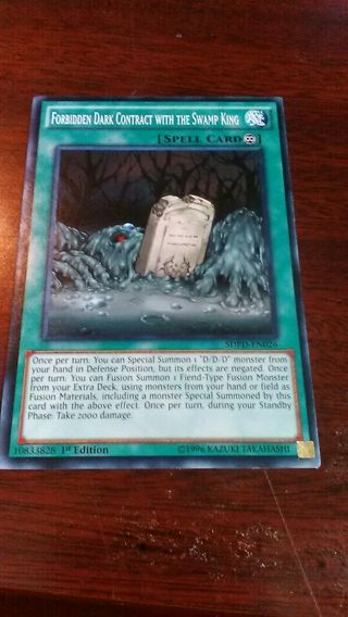 Forbidden dark contract with the swap king