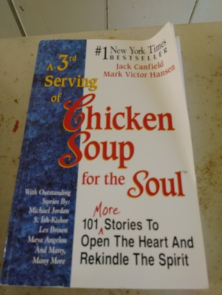 Chicken Soul For The Soup Book