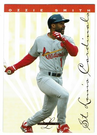 Ozzie Smith 1995 Leaf Limited St. Louis Cardinals