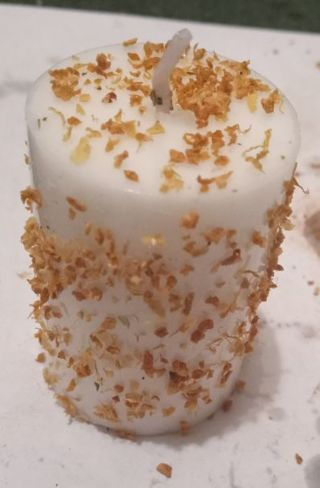 Joy spell candle