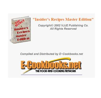 Free: Insider's Recipes Master Edition