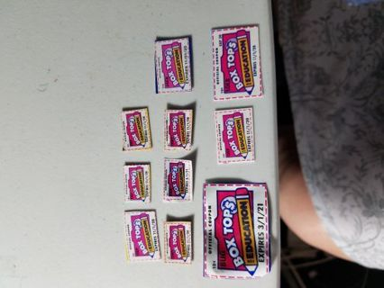 10 boxtops for education #24