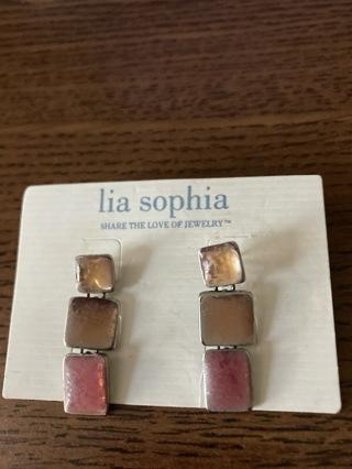 Lia Sophia vintage earring pair # 5