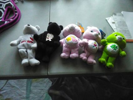 Betty boop beanie teddy bears and care bears beanie teddy bea