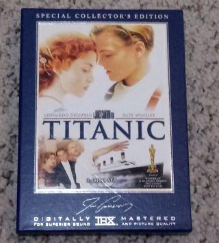 Titantic dvd