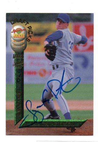 1994 Signature Rookies Jayson Peterson Autograph