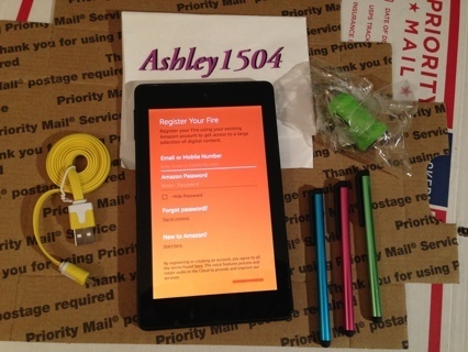 1 Amazon FIRE Tablet With Alexia & Bundle FREE SHIPPING