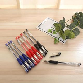 High Quality 0.5mm Black Red Blue Ink Gel Pen For Students Writing Office School Supplies Statio