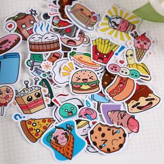 40pcs Creative kawaii self-made warming food sticker/ beautiful stickers /decorative sticker /DIY