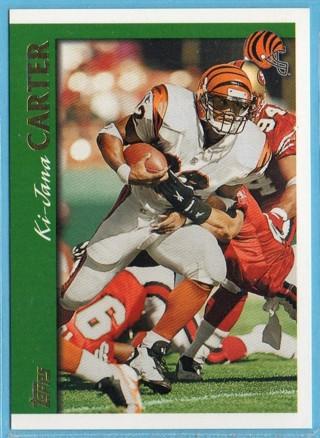 1997 Topps - Ki-Jana Carter - Bengals