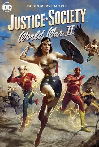 JUSTICE SOCIETY: WORLD WAR II [4K UHD/MA REDEEM ONLY]