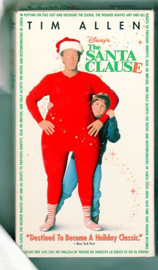 VHS - The Santa Clause