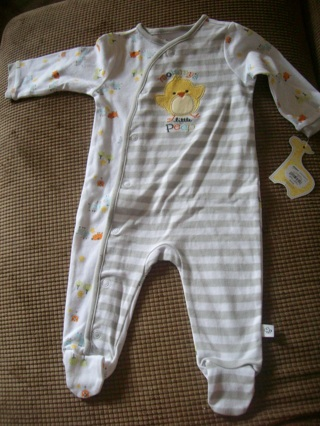 Kohls Baby Clothes Adorable Free First Moments Baby Sleeper BNWT From Kohls Baby Clothes