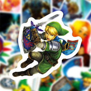 [GIN FOR FREE SHIPPING] 50Pcs The Legend of Zelda Stickers