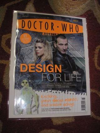 Dr Who Magazine issue 361 Design for Life October 2006