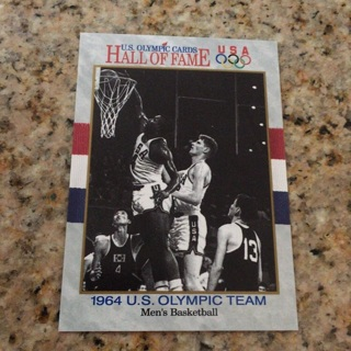 1991 Impel U.S. Olympicards Hall of Fame - [Base] #54 1964 U.S. Olympic Team Men's Basketball