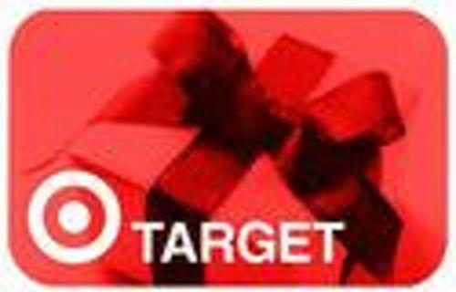 Target e- gift card 10.00
