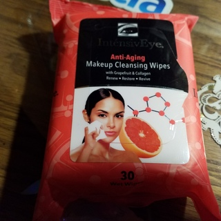 Intensive Eye Anti-Aging Makeup Cleansing Wipes