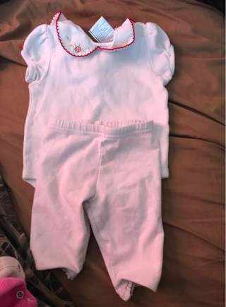 6 months outfit baby girl