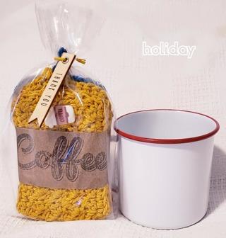 CROCHET 3 COFFEE/COCOA/TEA COZIES**LQQK**