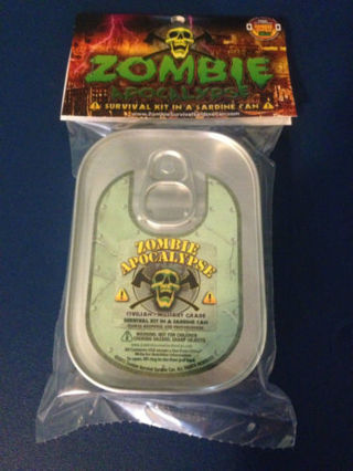 ZOMBIE Apocalypse Survival Kit In a Can