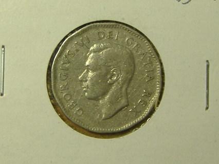 1950 Canada 5 cent coin world