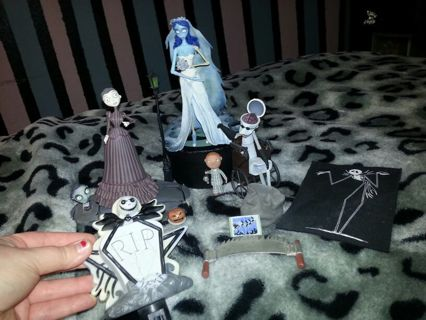 Nightmare Before Christmas Zombie.Free Tim Burton Nightmare Before Christmas Corpse Bride Mix