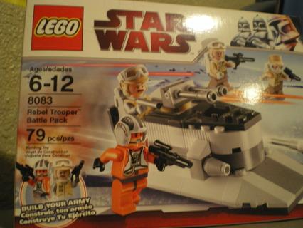 *NIP* LEGO Star Wars Rebel Trooper Battle Pack (8083)