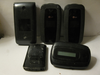 Tech lot- Flip Cell Phones, a MP3 player & an actual old school Pager