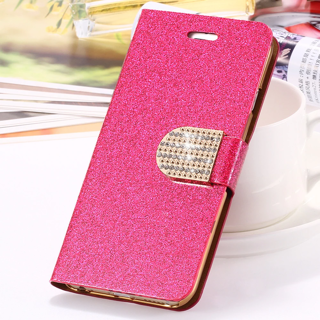 NEW Apple iPhone 6 / 6S Glitter Case Fold Up Magnetic Housing Case Phone Protection