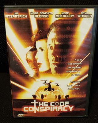 "DVD - ""The Code Conspiracy""  starring: Jim Fitzpatrick"