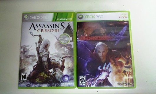 Creed lll  /  Cry 4   XBOX  360