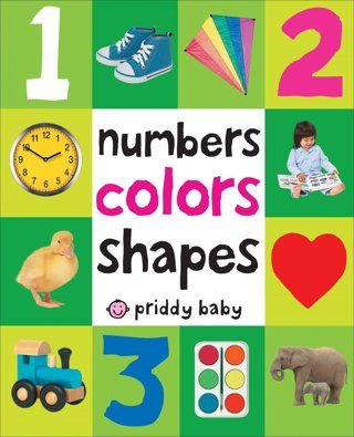❤ Brand New ~ Numbers Colors Shapes (First 100) Board Book ~❤