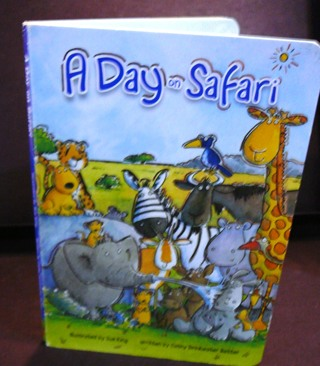 A Day on Safari..by Cathy Drinkwater Better Hard book